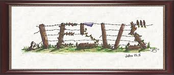Image result for jesus be a fence